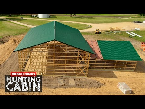 Building a Hunting Cabin 7:  Metal Roof Trim Details