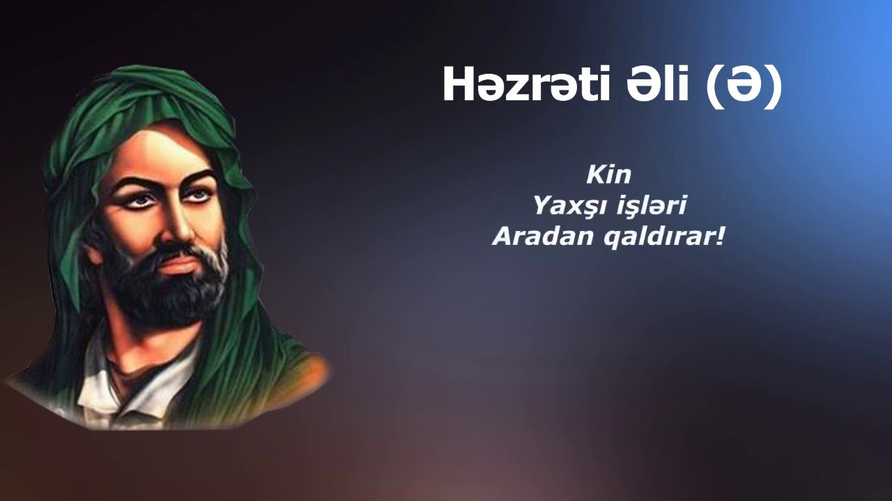 Hz əli ə Tarixə Damga Vuran Sozləri Youtube