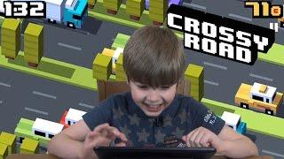 Playing Crossy Road (iPad/iOS/Tablet Gameplay Video) KID GAMING