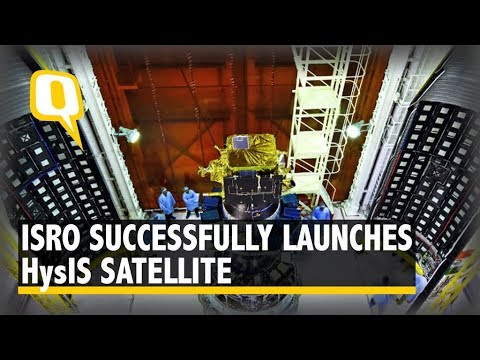 ISRO Successfully Launches its HysIS Satellite from Sriharikota in AP | The Quint
