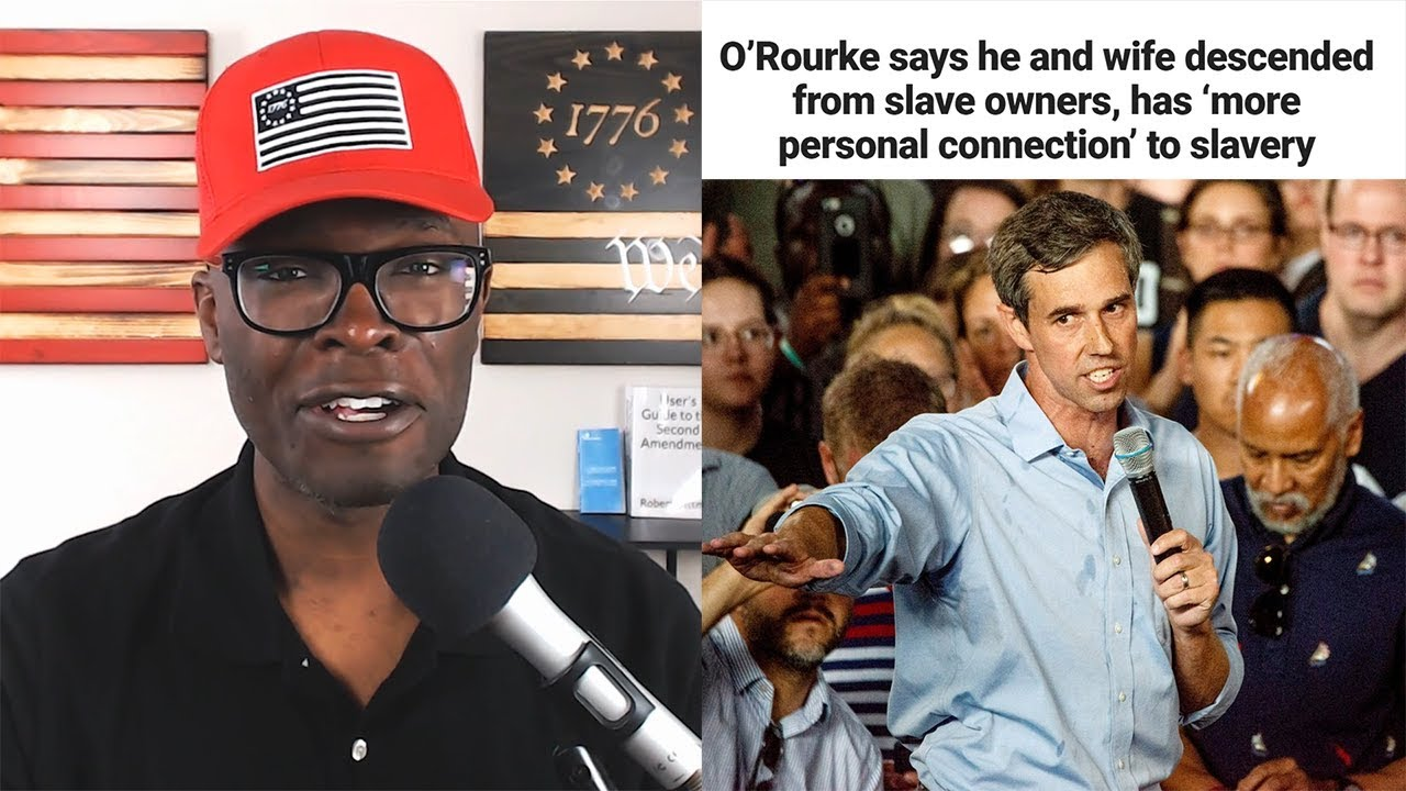 ABL Beto O'Rourke Reveals HIS Family OWNED SLAVES! But Why?