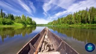 Самая крупная река на северо-западе России - река Печора