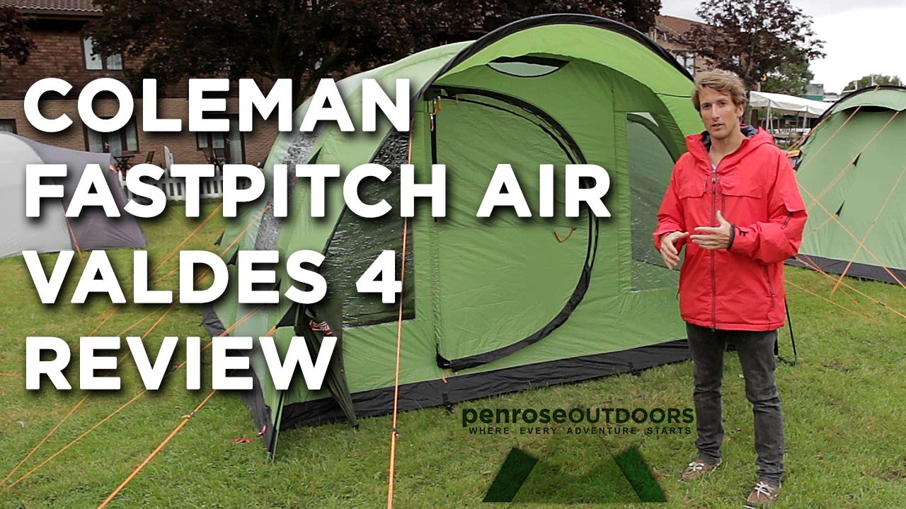 sc 1 st  YouTube & Coleman FastPitch Air Valdes 4 Review - YouTube