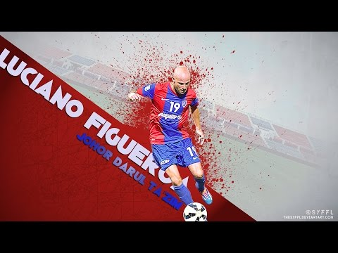 "Luciano Figueroa ● ""The hero of JDT"" ● 2014-2015 Skills"