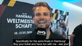 Moritz Fürste Ambassadør VM Herrer 2019