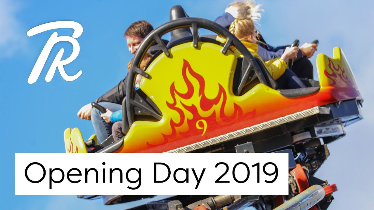 Opening Day 2019 - Chessington World of Adventures | Thrill Riders