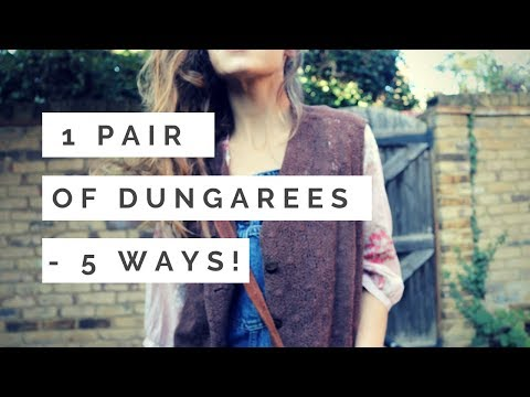 1 PAIR OF DUNGAREES / OVERALLS - 5 WAYS I COLLAB