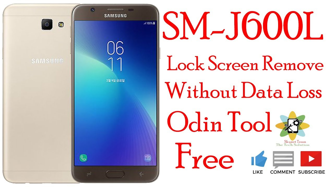 Samsung J600L Lock Screen Remove Without Data Loss
