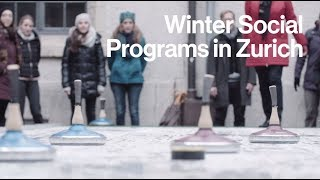 The Social Program to your Event in Zurich - Winter