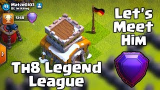 LET'S MEET TH8 LEGEND IN CLASH OF CLANS.