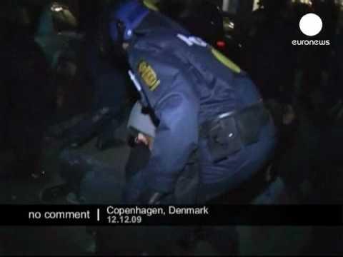 Hundreds arrested at climate change demo