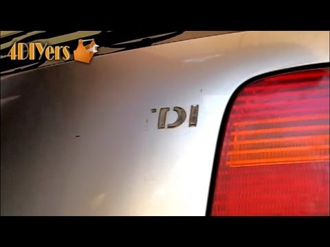 DIY: Vehicle Badging Removal/Replacement