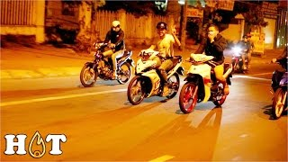 Street Racing Vietnam Police chase