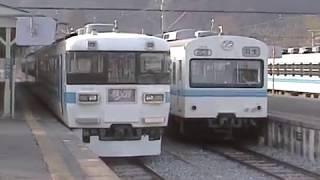国鉄165系 急行電車 改造 秩父鉄道3000系急行電車 2004年