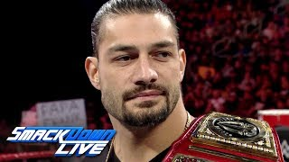 Relive Roman Reigns' incredible career: SmackDown LIVE, May 7, 2019