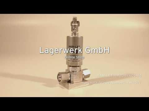 HAM-LET HM204VKCGM4, Lagerwerk