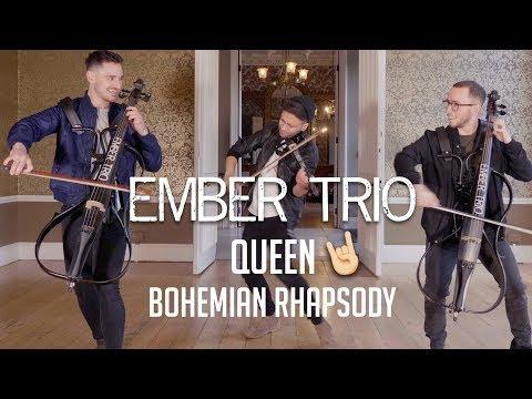 Bohemian Rhapsody - Queen Violin Cello Cover Ember Trio
