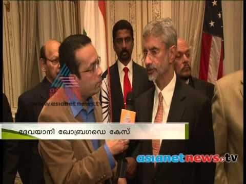Ambassador Dr. S. Jaishankar speaks on Asianet News Indian  diplomat Devyani Khobragade case