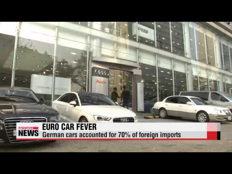 European auto imports eating into sales of Korean auto giants   유럽차 국내 수입, 한국차 수