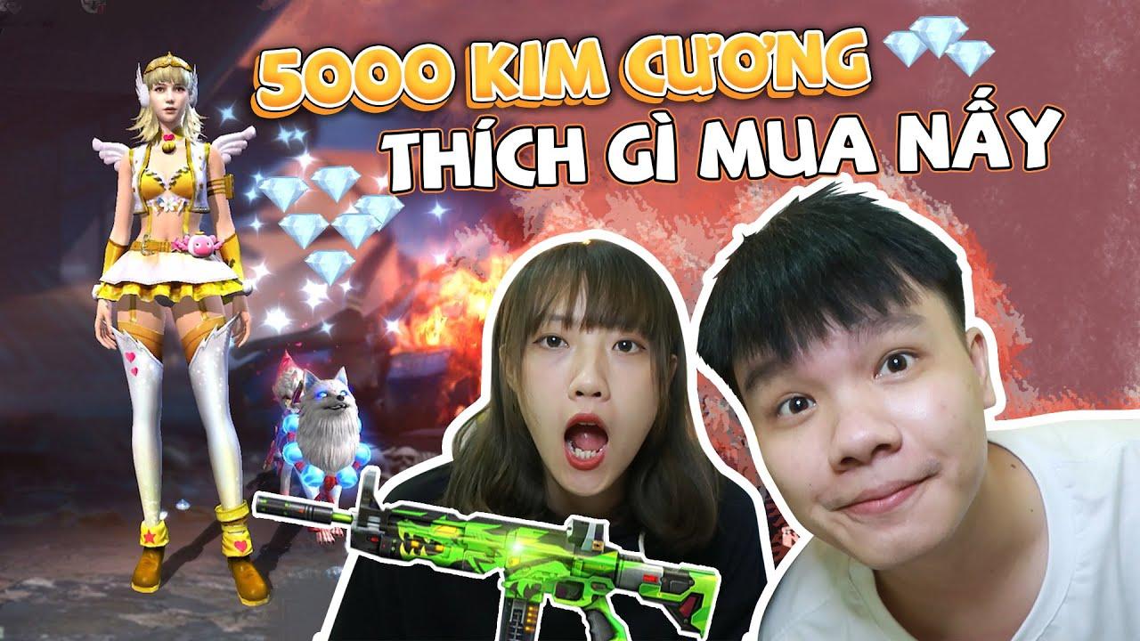Tặng 5000 Kim Cương Bắt Chụy @Yến Dương Mua Xả Láng | Tuna Lee