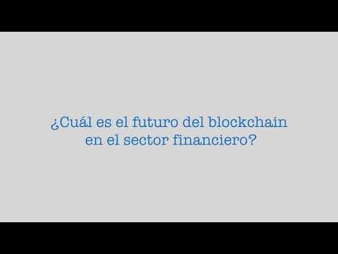 Gonzalo Blousson BBVA hablando sobre el Bitcoin y el blockchain