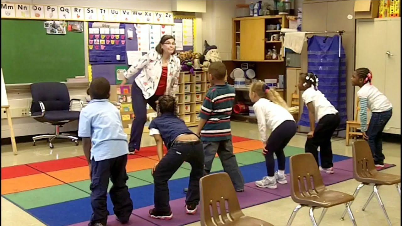 Classroom Break Ideas : Action words part classroom physical activity breaks