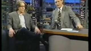 David Cronenberg interview on Late Night (1992)