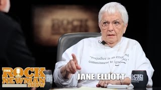 Jane Elliott on The Rock Newman Show