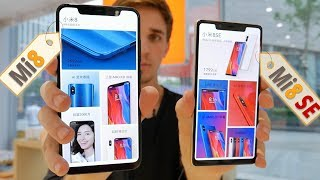 Быстрый обзор Xiaomi Mi8 и Xiaomi Mi8 SE