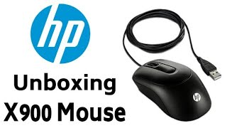 Unboxing HP X900 mouse
