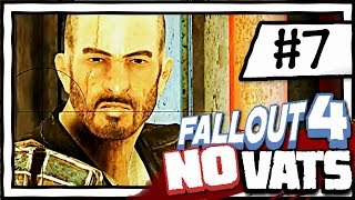 KELLOGG BOSS BATTLE 7 Fallout 4 NO VATS SURVIVAL DIFFICULTY CHALLENGE PLAYTHROUGH