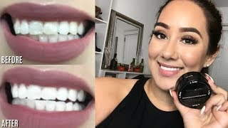 Gambar cover CHARCOAL TEETH WHITENING! |BIANCO SMILE REVIEW