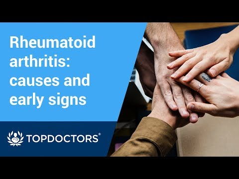 Rheumatoid arthritis: causes and early warning signs