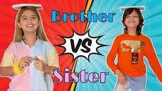 Brother VS Sister Challenge ft. Arishfa khan | Eshaan khan