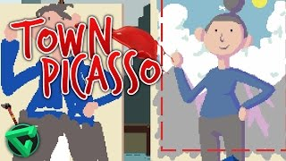 "¡TOWN PICASSO! - ""90 Second Portraits"" 