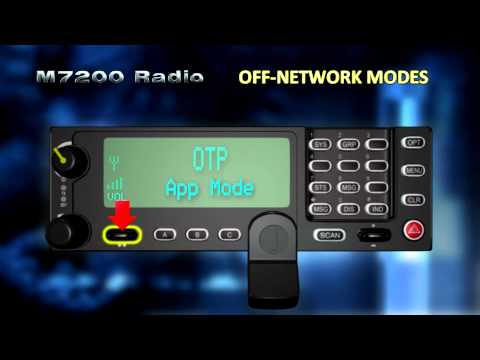 M7200 16 Using Off-Network Modes