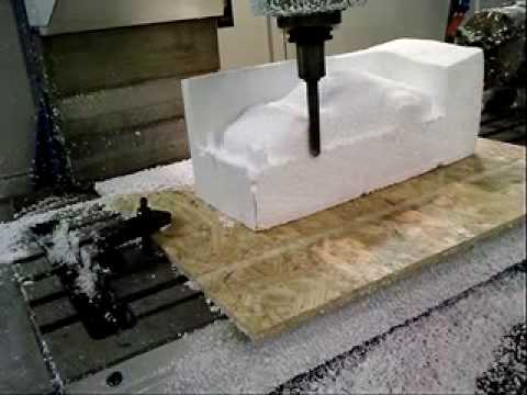 styrofoam cnc machine