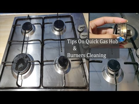 How to Deep Clean Gas Stove , Sink , Burners~Kitchen Cleaning Routine~Simple & Easy Tips