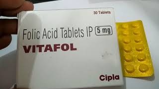 Vitafol 5 MG Tablet - Uses, Side Effects, Substitutes, Composition