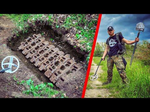 Die Suche nach dem Panzer geht weiter - Schatzsuche mit Metalldetektor
