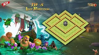 Best Town Hall - 5 { TH - 5 } Farming / Loot Protection Defense Base #2018 | Clash of Clans
