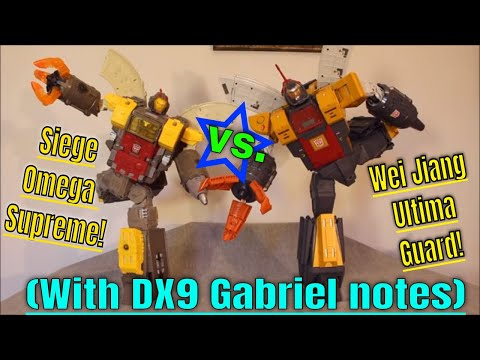 Who Wins? Ultima Guard VS Siege Omega Supreme (+ Gabriel Comments) - GotBot True Review NUMBER 619