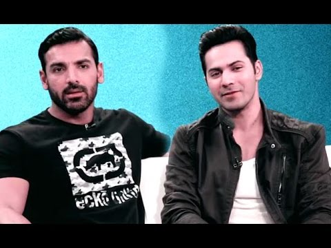 There's Something Varun Dhawan Doesn't Like About John Abraham | Exclusive Interview | DISHOOM