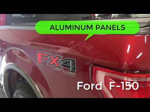 2016 Ford F150 Aluminum Paintless Dent Repair