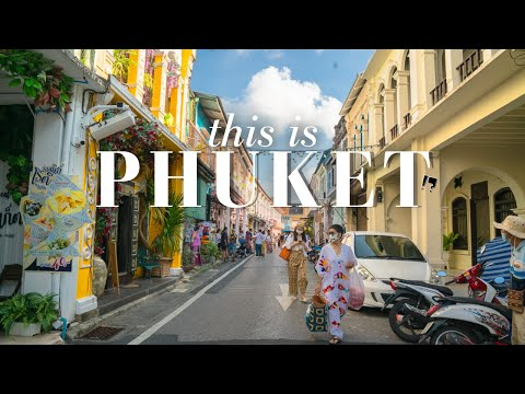We Never Expected This in PHUKET THAILAND! Phuket Town Feels like MALAYSIA
