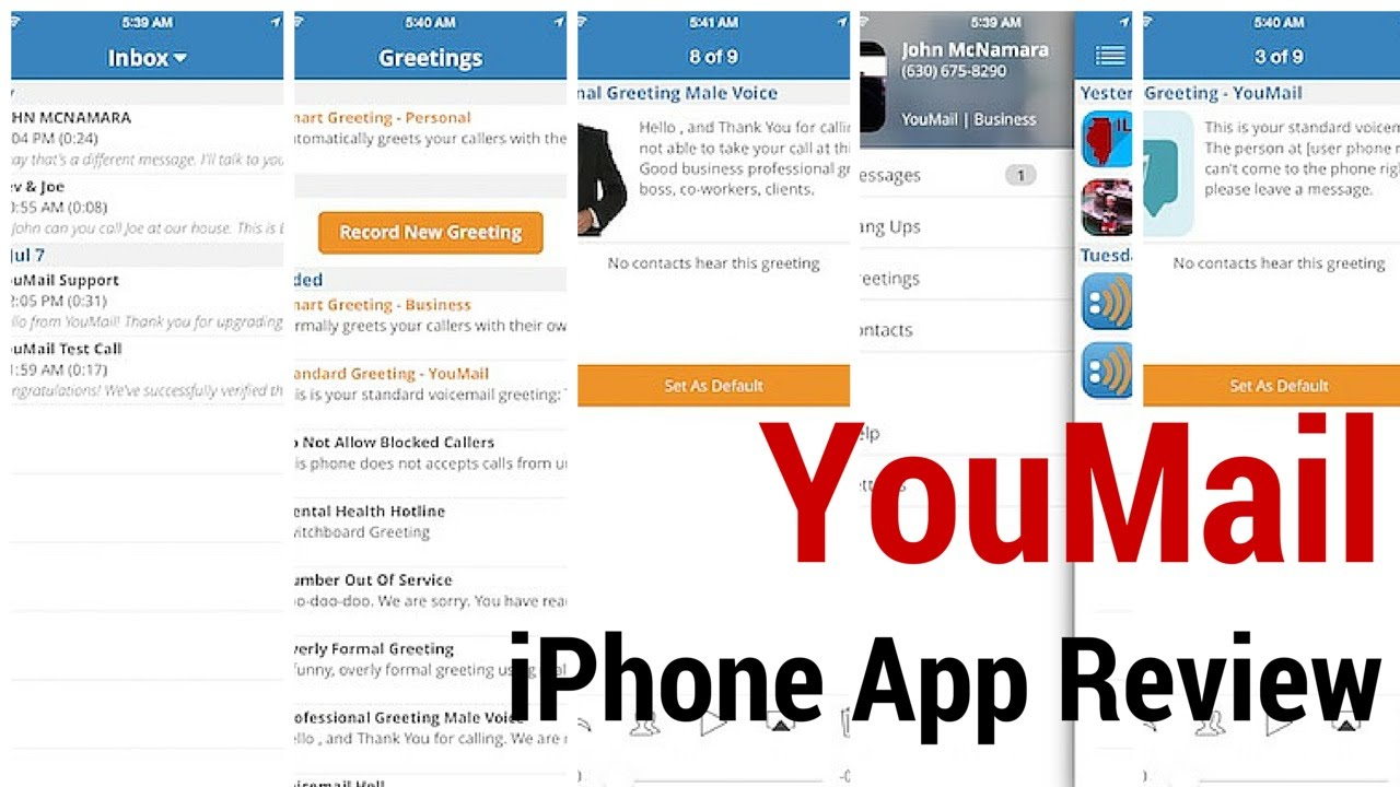 how to make a voicemail on iphone 4
