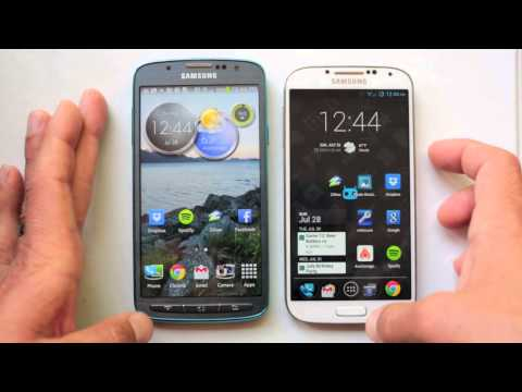 Samsung Galaxy S4 Active Vs. Galaxy S4 - How are they different?