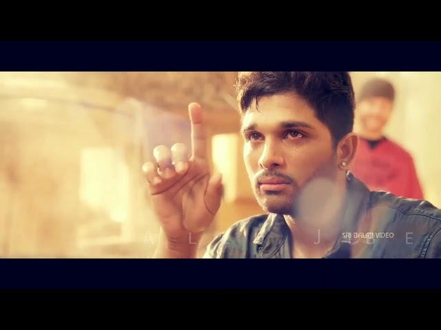 Allu Arjun New love sad Video song Allu Jibeesh Creations