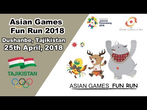 Dushanbe hosts 2018 Jakarta - Palembang Asian Games Fun Run