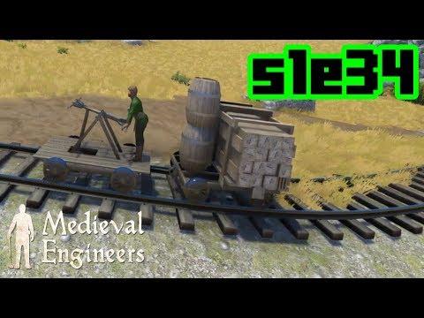 RAIL! - Medieval Engineers S1E34